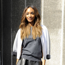 Jourdan Dunn in Monica Vinader Fiji and Baja Bracelets Vogue
