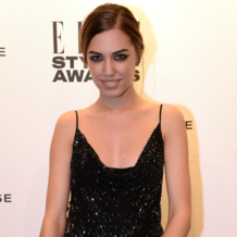 Amber Le Bon wearnig Monica Vinader Baja and Skinny Diamonds at the ELLE Style Awards 2014