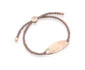 Rose Gold Vermeil Bali Friendship Bracelet - Rose Metallica - Monica Vinader