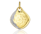 Riva Large Diamond Shore Pendant  - Monica Vinader