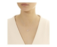 SS Pave Chain Necklace - Diamond - Monica Vinader