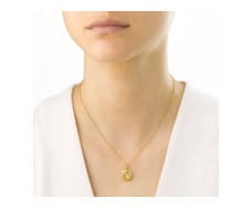 GP Riva Lemon Quartz Pendant - Monica Vinader