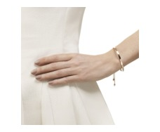 Rose Gold Vermeil Fiji Pave Toggle Bracelet - Diamond - Monica Vinader