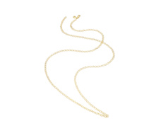 Gold Vermeil Mini Lungo Chain Necklace - Monica Vinader