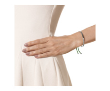 Fiji Friendship Bracelet - Racing Green - Monica Vinader