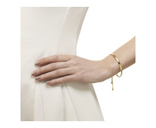 Gold Vermeil Fiji Chain Friendship Bracelet - Monica Vinader