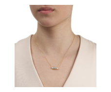 Gold Vermeil Baja Necklace - Monica Vinader