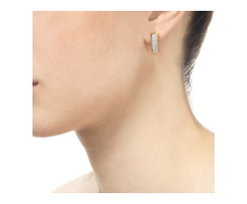 Gold Vermeil Baja Earrings - Monica Vinader
