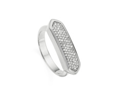 Baja Ring - Diamond - Monica Vinader