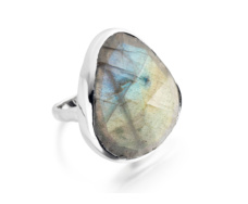Siren Cocktail Ring - Labradorite  - Monica Vinader
