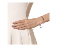 Rose Gold Vermeil Fiji Friendship Petite Bracelet - Black - Energy Model