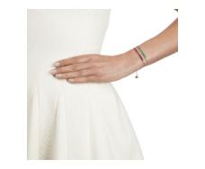 Rose Gold Vermeil Baja Precious Skinny Bracelet - Ruby Stack