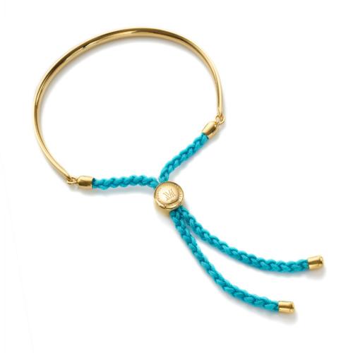 Gold Vermeil Fiji Friendship Petite Bracelet - Turquoise